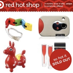 Target Red Hot Shop ~ how did i never know about this? It's yet another pop-up-micro-collection-available-till-its-gone shop ~ with some really fun pieces! Changes monthly!