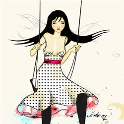 Design by Peppi ~ gorgeous illustrations by Niki Fisher