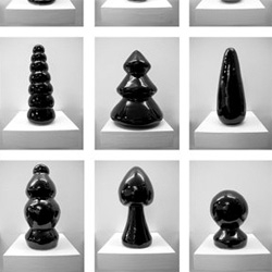 the work of the artist tony regazzoni:  sculptural and sex laced.  the young artist projects dynamic sexual tensions and beauty in form from his pieces. he's a french based up-and-coming artist