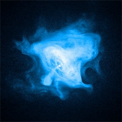 Crab Pulsar Wind Nebula Photo! Yesterday's NASA Astronomy Picture Of The Day