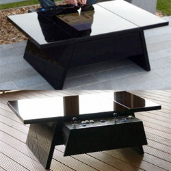 "Oooooh Surface Tension's ""contemporary arcade coffee tables"" now come in a glossy lacquered black! And you can play games, listen to music, view movies/photos, and browse the internet on them!"