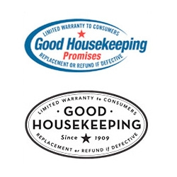 "The latest update to the Good Housekeeping logo ~ and the ""Today Show"" even mixed up which one was the new one (the one on the bottom)"