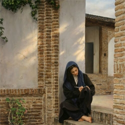 IMAN MALEKI is an Iranian painter. No doubt that he is a genius!