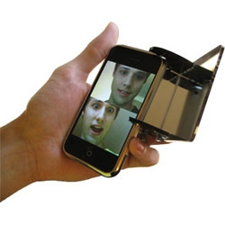 From cardboard tubes and mirrors as a kid.... to iPhone Video Chat (as well as for your laptops)! Periscopes have come a long way.