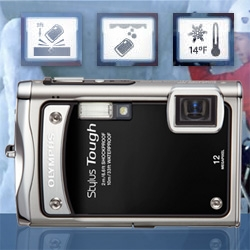 Olympus Stylus Tough 8000 ~ also shock, freeze, waterproof!