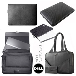 TUMI, Mandarina Duck, Timbuk2, Acme Made, Built NY, Kenneth Cole, and more... DESIGNED FOR DELL? Their move into the accessories market is looking pretty beautiful ~ impressed with some of the exclusives they've managed!