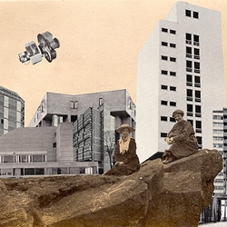 Brand new collages by collaborative sheffield/liverpool based artist duo Smith & Clarkson