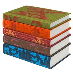 Penguin's recovered classics series! Round 2! Of course we're loving the spine of Little Women...