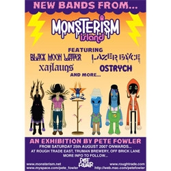 Monsterism ROCK BAND coming from Pete Fowler