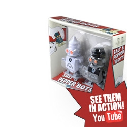 Suck UK Salt & Pepper 'Bots! Wind up style!