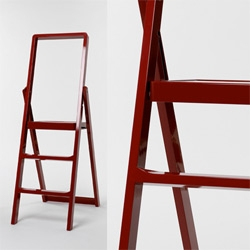 Karl Malmvall designed this sleak ladder for Design House Stockholm. It's part of the 2010 product range of DHS and will be released very soon.