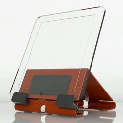 Heckler Design @Rest for iPad supports your iPad in portrait or landscape orientation at angles ideal for the side table or countertop. Built from precisely cut steel with a beautiful, durable powdercoat finish.