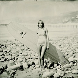 An beautiful collection of images by photographer Joni Sternbach looking at surfers and the beaches they surf.