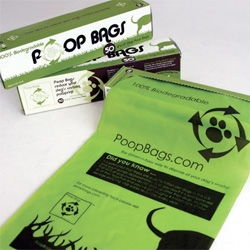 Biodegradeable Poop Bags for your dogs...