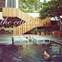 Photos from Ian Schrager's new series, The EDITION hotels.  Waikiki Beach, Hawaii.