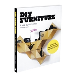 A new book by Christopher Stuart featuring 30 designs by leading designer-makers from around the world, DIY Furniture shows you how to use off-the-shelf parts to make stunning designer furniture from scratch.