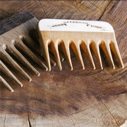 Support your Movember man with a Mustache Comb from the Offerman Woodshop Mustache Comb.