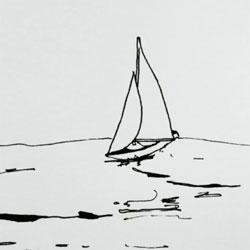"""Hand drawn music video created by Katarzyna Kijek and Przemysław Adamski for We Cut Corner's """"Pirate's Life""""."""