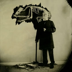 Fun ambrotype photography by Noah Doley.
