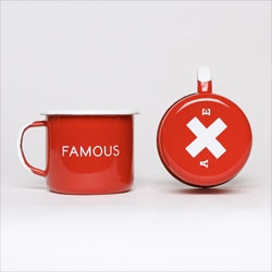 Famous Red Enamel Steel Cups from Best Made Company.