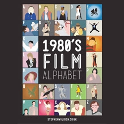 Stephen Wildish's 80's film alphabet.