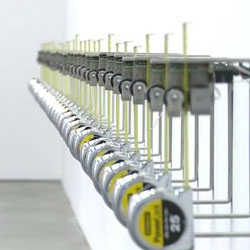 Rafael Lozano-Hemmer's Tape Recorders installation at the Museum of Contemporary Art, Sydney until February 12, 2012.