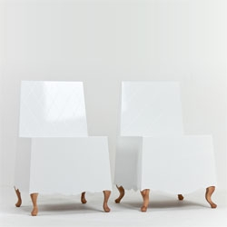 South Korean designer Jongho Park's latest project is this 'Costume Collection' of furniture pieces.