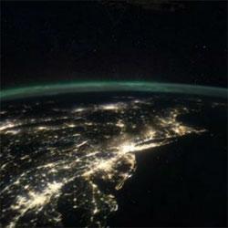 Wired Science's collection of beautiful videos of the Earth at night.