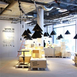 Work in Progress, an exhibition concept initiated by Jonas Wagell and Axel Bjurström at Stockholm Design Week.