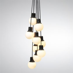 Mass Light, marble pendant from Norm Design.