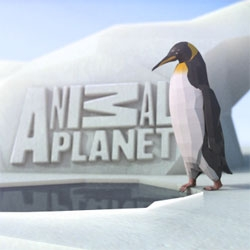 Cute new Animal Planet Identity created by Discovery UK creative in collaboration with Double G studios and Blue Zoo.