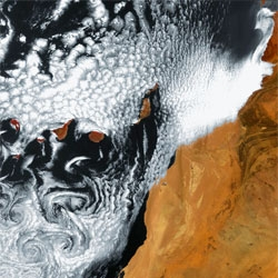 10 Years of Gorgeous Images of Earth From Space from the 8-ton Envisat satellite.