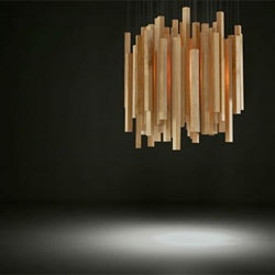 'Woods' suspension lamp by Hector Serrano for Arturo Alvarez.