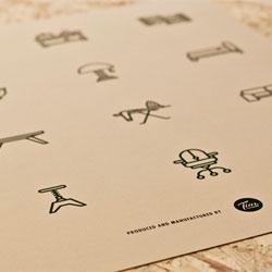 Fun prints from Tim Boelaars of his Icons series.