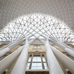 John McAslan + Partner's renovation of King's Cross Station in London is nearly complete.