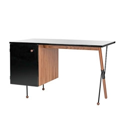 '62 Series' desk by Greta Grossman.