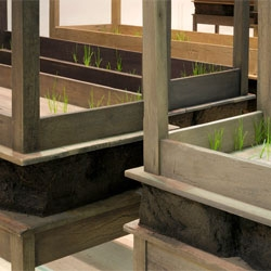 'Plegaria Muda', meaning Mute Prayer by Doris Salcedo.