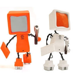 When computers go bad ~ here's a toy to remind you to crtl+s frequently! Mainframe by Dean Bradley
