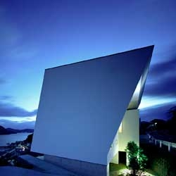 I-House is located in Nagasaki, Japan, and designed by Masahiko Sato from Architect Show.