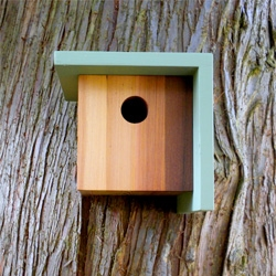 Beautiful birdhouses from Twig and Timber.