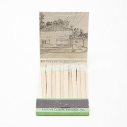 Matchbook artwork by Krista Charles.
