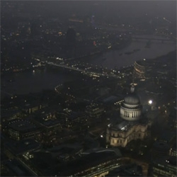 Gorgeous aerial footage of London shot by Jason Hawkes.