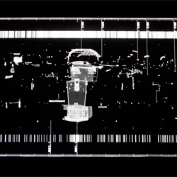 data.anatomy [civic] by Ryoji Ikeda created entirely from data from the Honda Civic.
