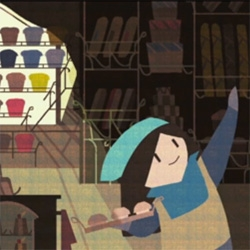 'When I grow up' an adorable animated film from Jasmin Lai about a little girl who doesn't know what she wants to be.