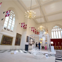 Clerkenwell Design Week adds an unusual new venue to their lineup this year, the Order of St John! Beautiful backdrop for some stunning design!