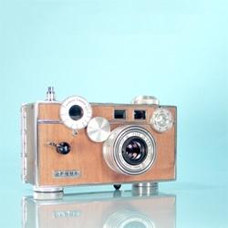 Ilott vintage cameras, loving restored classics.