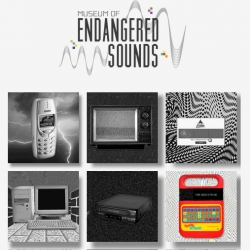 This Museum of Endangered Sounds was conceived to preserve the sounds made famous by old electronics equipment.