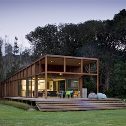 The Great Barrier House by Crosson Clarke Carnachan Architects.