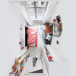 Menno Aden's beautiful room portraits capture spaces from unique perspectives.