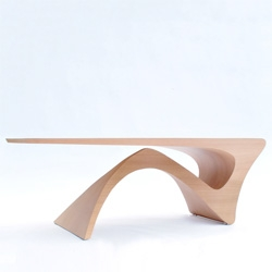The elegant Form Follows Function table by Daan Mulder.
